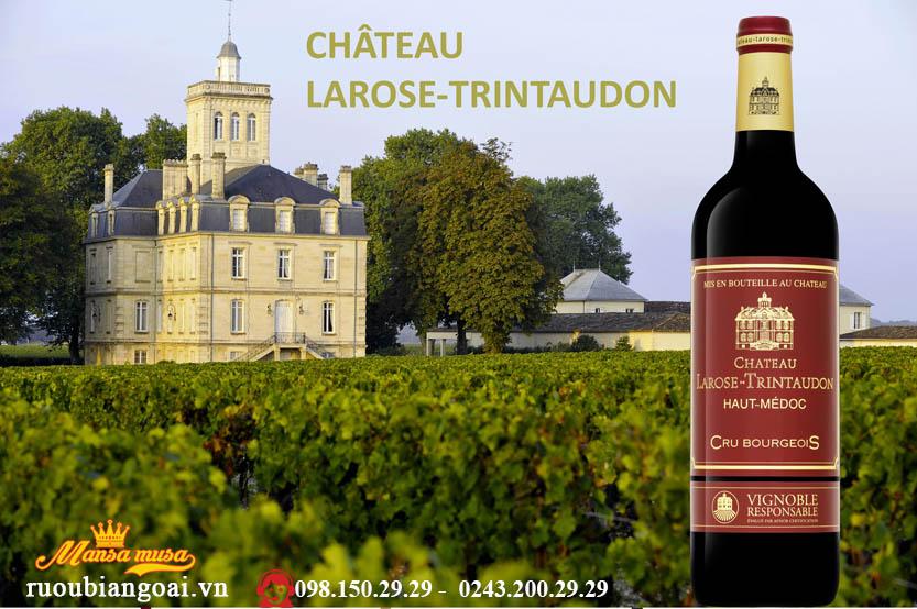 Rượu Vang Pháp Chateau Larose - Trintaudon