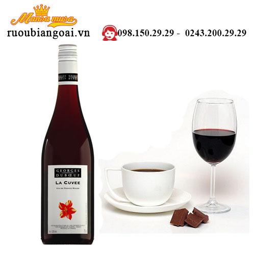 Rượu Vang Pháp Georges Duboeuf La Cuvee Red