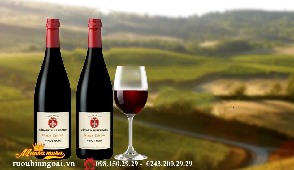 Rượu Vang Pháp Gerard Bertrand Reserve Speciale Pinot Noir