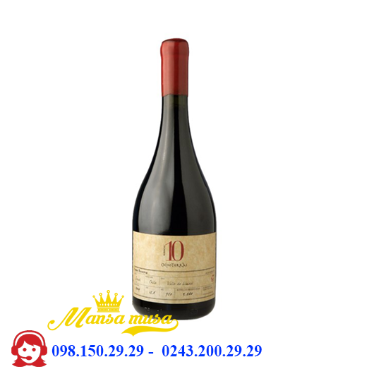 Vang Chile 10 Grand Reserva Syrah