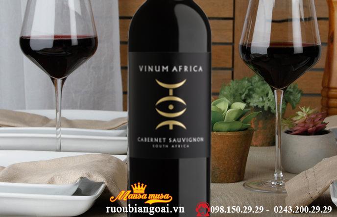 Vang Nam Phi Vinum Africa Cabernet Sauvignon