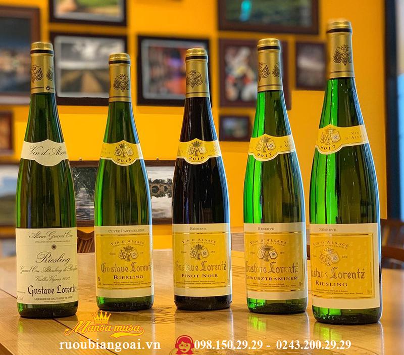 Vang Pháp Gustave Lorentz Pinot Noir Reserve