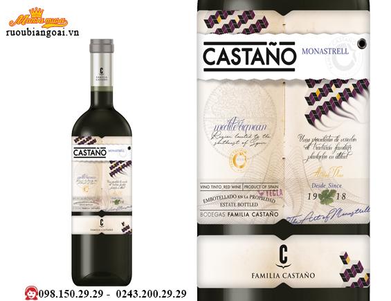 Vang Tây Ban Nha Castano Monastrell