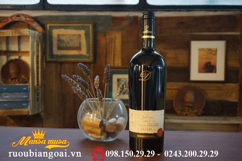 Rượu Vang Chile Casadonoso D