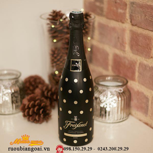Rượu Vang Freixenet Cordon Negro Polka Dots