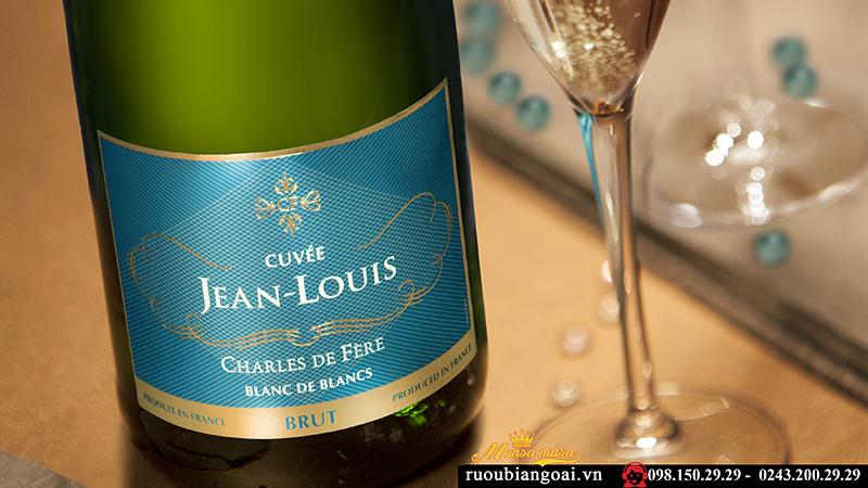 Rượu Vang sủi Cuvee Jean – Louis Brut