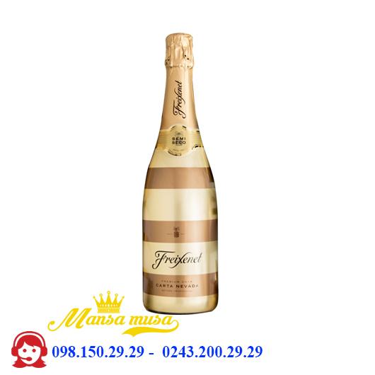 Rượu Vang Sủi Freixenet Carta Nevada Stripe