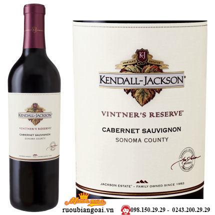 Vang Mỹ Kendal Jackason Wintners Cabernet Sauvignon