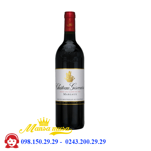 Vang Pháp Chateau Giscours Margaux 2012