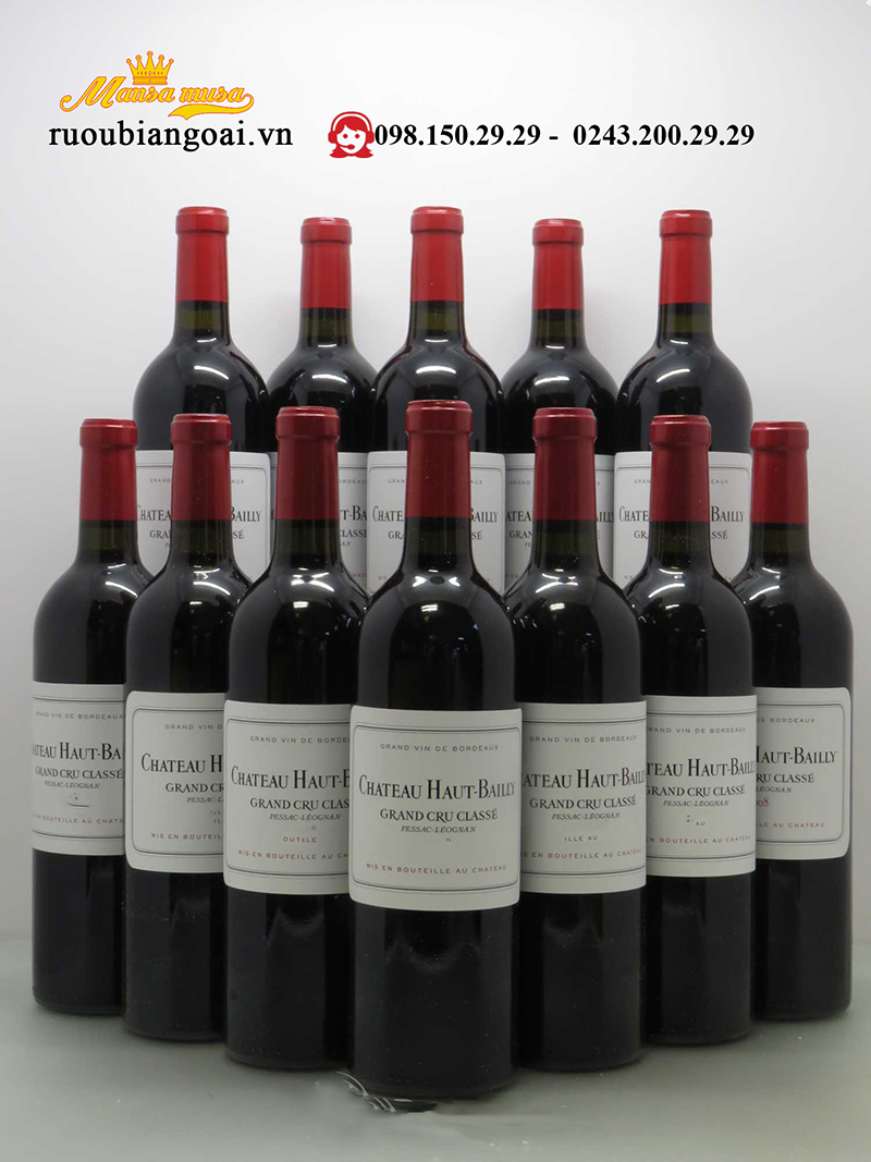 Vang Pháp Larde 2 Nd Wine Of Chateau Haut Bailly