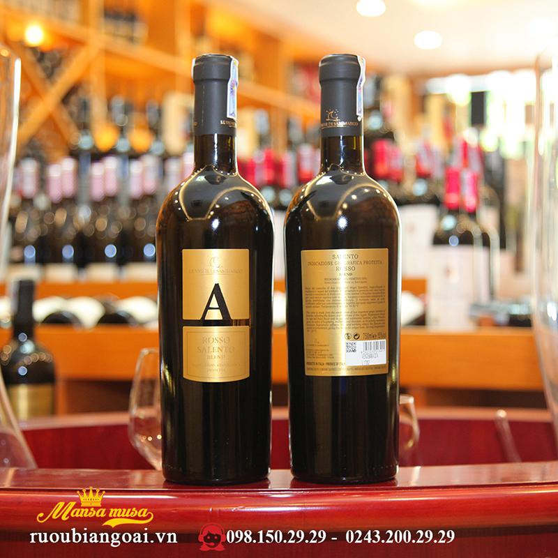 Vang Ý A Blend Rosso Salento 2014
