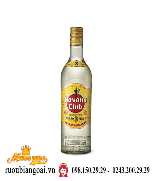 Rượu Havana Vàng 3yo
