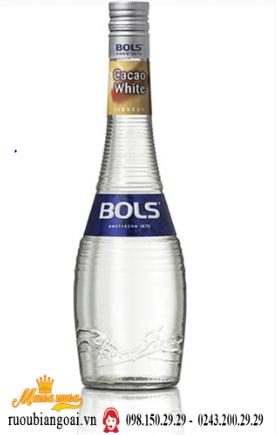 Rượu mùi Bols Cacao White