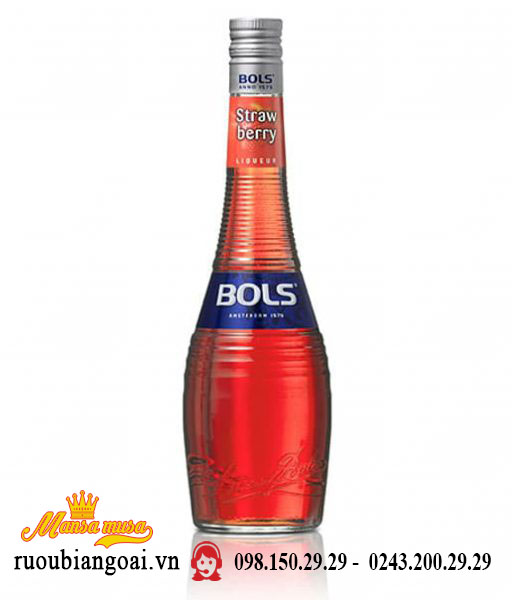 Rượu mùi Bols Strawberry