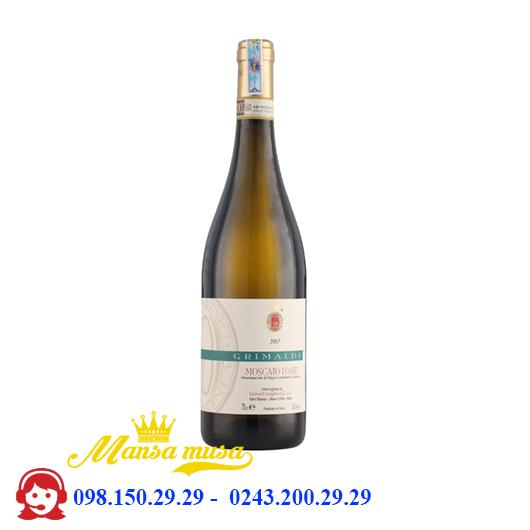 Rượu Vang Ý Grimaldi Moscato d'Asti