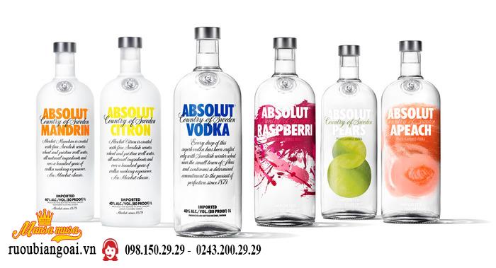 Rượu Vodka Absolute White