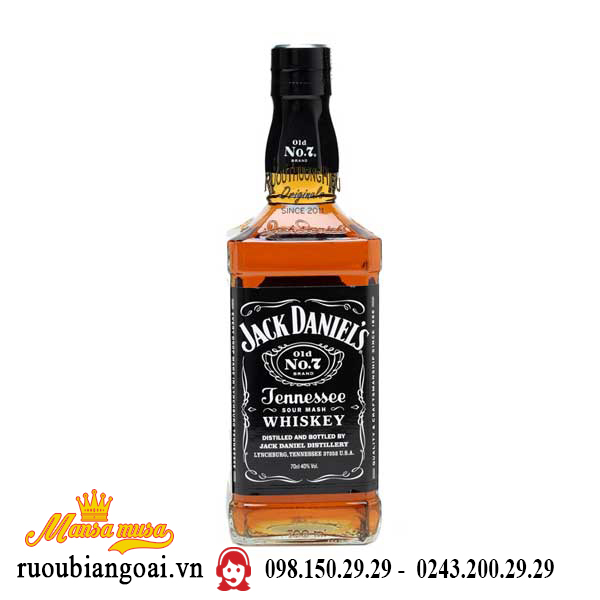 Rượu Whisky Mỹ Jack Daniel
