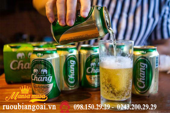 Bia Chang Thái Lan lon 330ml 5% - Thùng 24 lon