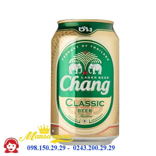 Bia Chang 5% – Lon 330ml – Thùng 24 Chai
