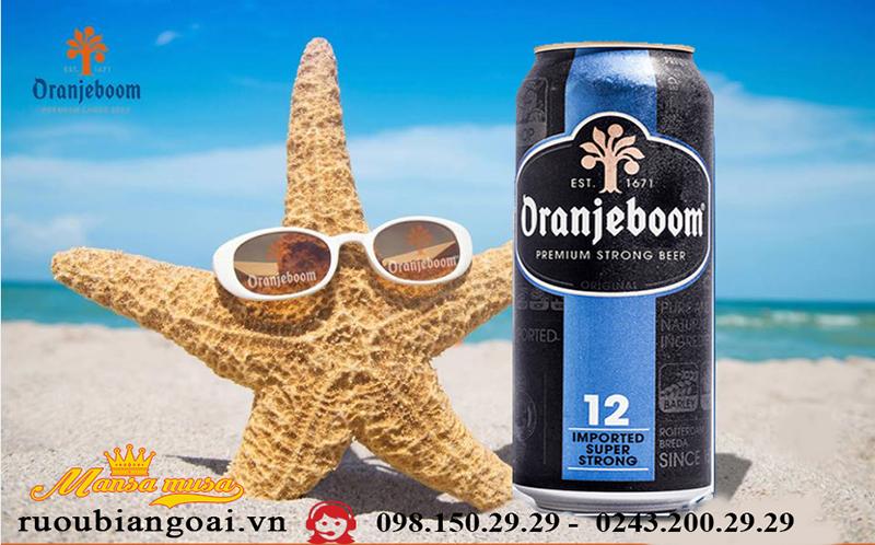 Bia Hà Lan Oranjeboom Premium Strong 12%