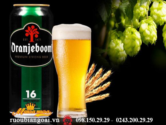 Bia Hà Lan Oranjeboom Premium Strong 16%