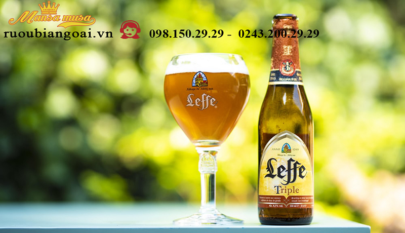 Bia leffe blond