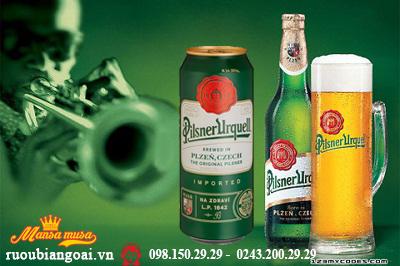 Bia Pilsner Urquell 4.4% – Lon 500ml