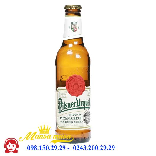 Bia Pilsner Urquell 4.4% – Chai 330ml