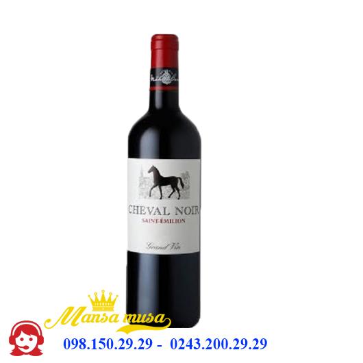 Rượu Vang Pháp Cheval Noir Grand Vin