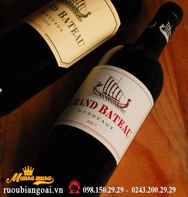 Rượu Vang Pháp Grand Bateau Red / White