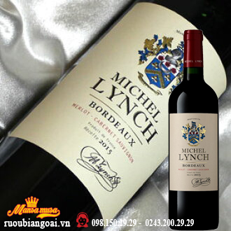 Rượu Vang Pháp Michel Lynch red
