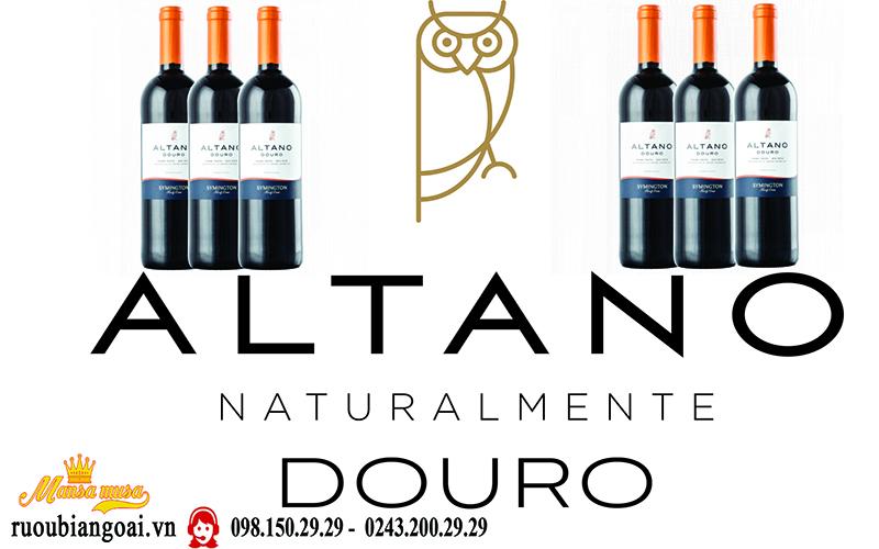 Vang Bồ Đào Nha Altano Douro