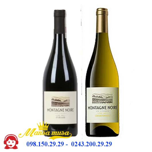 Vang Pháp Montagne Noire Chardonnay / Syrah