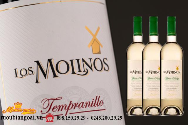 Vang Tây Ban Nha Los Mollnos Tempranila
