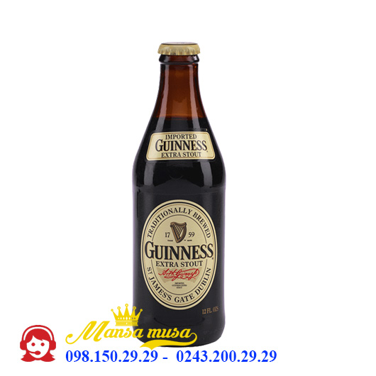 Bia Ireland Guinness Extra Stout