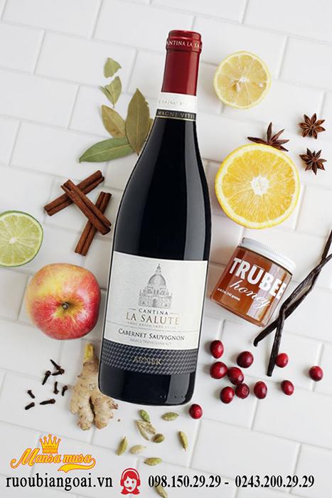 Rượu vang Cantina La Salute Cabernet Sauvignon - Rượu vang Ý