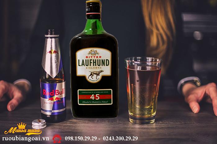 Rượu 45 Thảo Dược Laufhund Bitter Ziolowka 35
