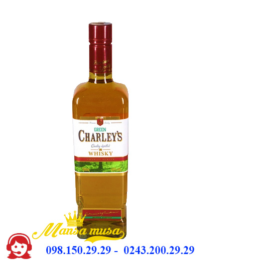 Rượu Charley's Green Whisky