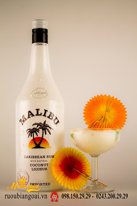 Rượu Malibu 21% vị dừa