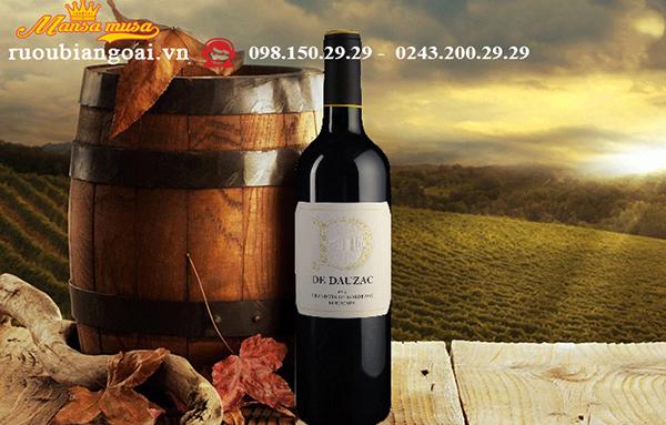 Rượu vang D de Dauzac 2015 - Rượu vang Pháp