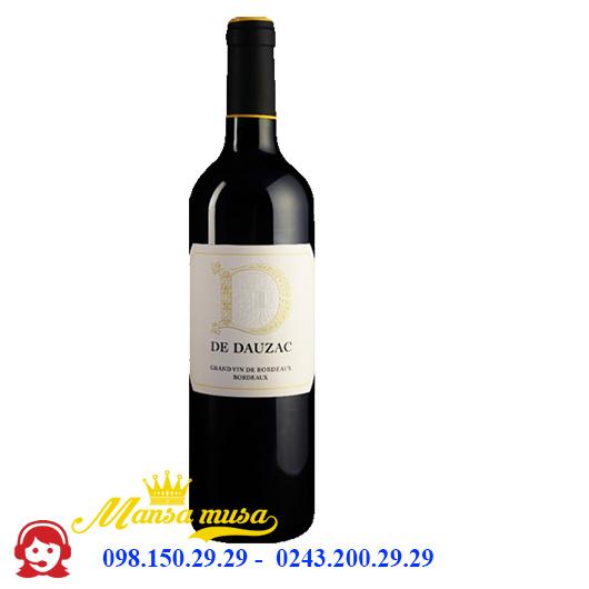 Rượu vang D de Dauzac 2015