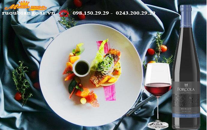 Rượu vang Forcola Merlot - Rượu vang Ý