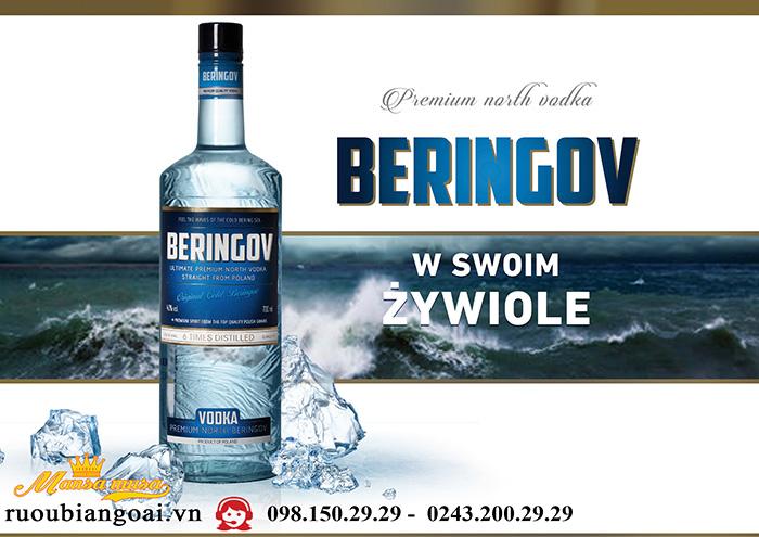 Rượu Vodka Beringov