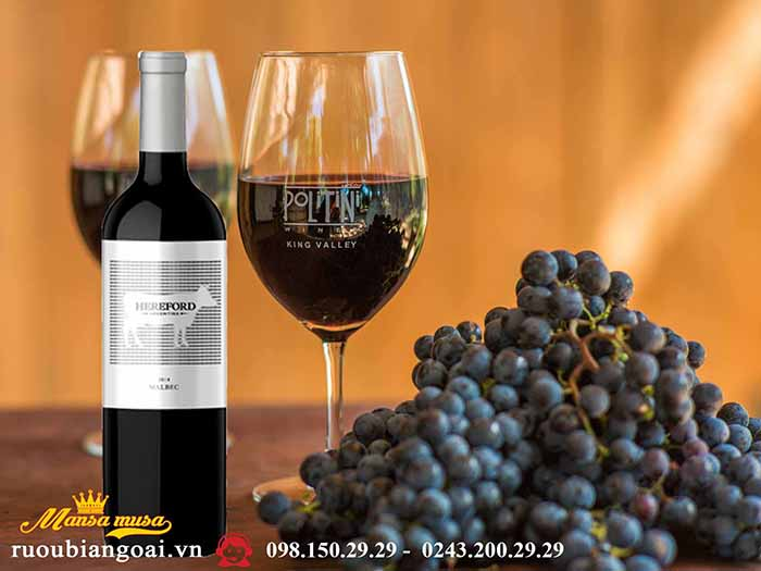 Vang Argentina Hereford Malbec
