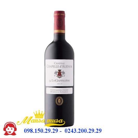 Vang Château Chapelle D'aliénor - Rượu vang Pháp