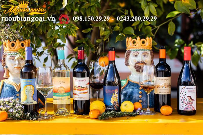 Vang Donnafugata Anthilia Sicilia Doc Bianco - Rượu Vang Ý