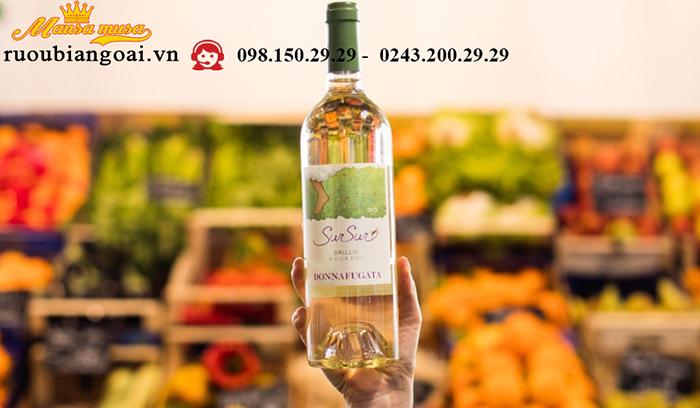 Vang Donnafugata Sur Sur Sicilia DOC Grillo - Rượu vang Ý