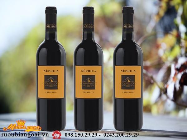 Vang Tormaresca Neprica Primitivo - Rượu vang Ý