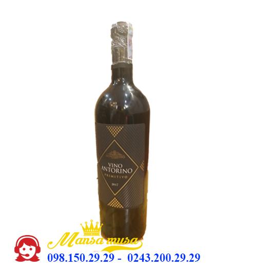 Vang Ý Vino Antorino Primitivo
