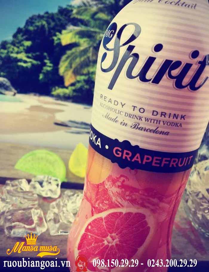 Rượu Cocktail Tây Ban Nha MG Spirit